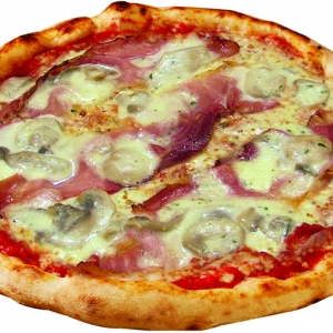 334 Pizza Speck – brie