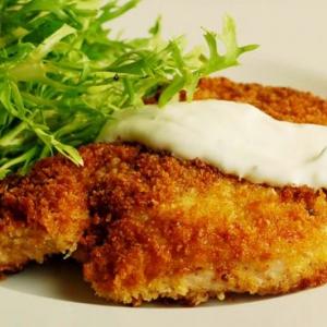 Schnitzel-de-porc-parizian