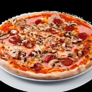 pizza-sunca-ciuperci-salam-picant